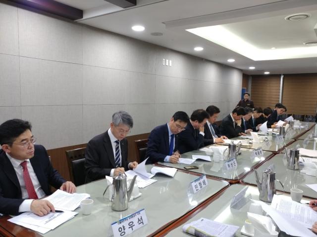 민형배 광산구청장, 당·정·청 사회적경제 간담회 참가