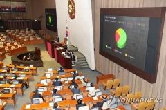 '늦장 법안' 공직선거법 개정안 국회 통과