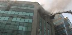 고양 화정역 인근 복합상가건물 화재···현재까지 3명 부상