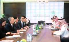 백운규, 사우디 3개 핵심부처 장관 면담…원전수출 의지 밝혀