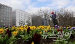쾌청하고 포근한 주말…서울 낮 기온 17도