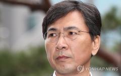 """'성폭행 의혹' 안희정, 검찰 조사 후 귀가…""""성실히 응했다"""""""