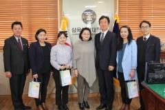 몽골 에투겐대 간호대학장, 삼육보건대 방문