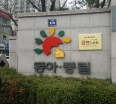 인천 남구 동아풍림아파트, 제3호 금연아파트로 지정