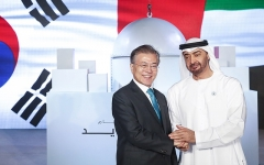 UAE서 잭팟 터진 文대통령…석유·가스분야서 삼성·SK 등 韓기업 250억불 협력