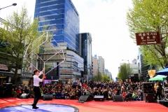 청년들의 자유버스킹 공간 '광주프린지페스티벌'
