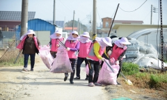 광주비아농협 ´농가주부모임´,  농촌환경 정화활동