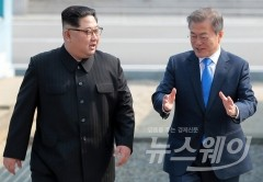 남북정상회담 이후 文대통령 지지율 '78%' 고공상승