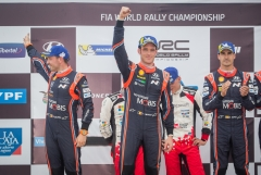 현대차 월드랠리팀, WRC 아르헨티나 랠리서 더블 포디움 달성