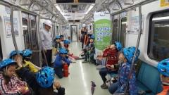 인천교통공사, 어린이 지하철 화재대피 체험훈련