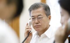 """文대통령 """"北김정은과 마음 터놓고 대화""""…日요미우리 인터뷰"""