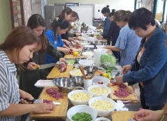 순창군 다문화센터, 결혼이주여성 대상 요리교육 운영