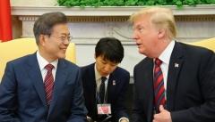 文대통령·美트럼프, 비핵화에 따른 '北불안감' 해소 논의