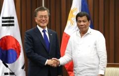 두테르테 필리핀 대통령, 文대통령과 6월4일 정상회담 진행