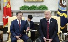 北美대화 D-1, '트럼프발 용단' 극찬한 文대통령