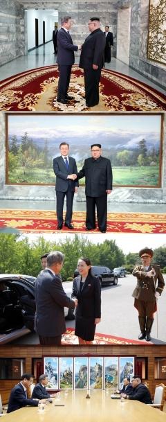 文대통령·金위원장의 5·26남북정상회담 이모저모