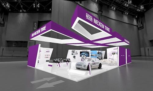 넥센타이어, 獨 국제 타이어 전시회서 '총 14개' 제품 전시