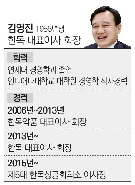 [stock&피플]김영진 한독 회장, 제넥신 투자로 '승자의 저주' 징크스 탈피 기대