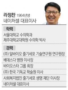 """'명예회복' 노렸던 라정찬 네이처셀 대표…""""또 다시 주가조작 혐의에"""""""