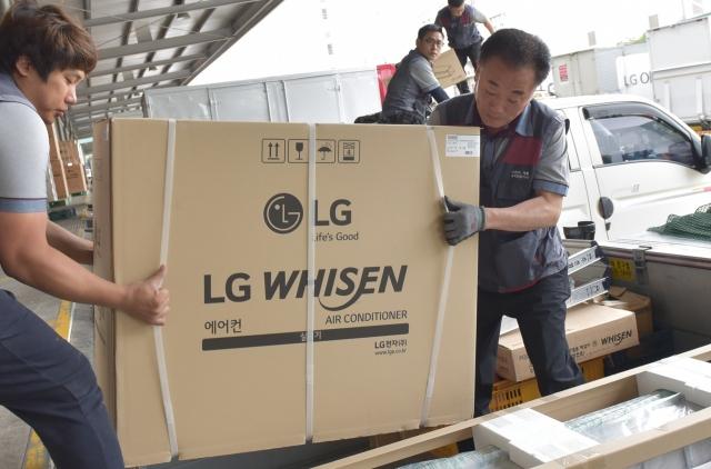 성수기 맞은 LG 휘센 에어컨 판매량 40%↑