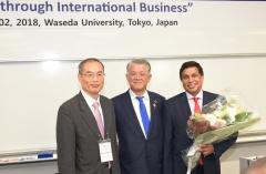 최신원 SK네트웍스 회장, 글로벌비즈니스 리더상 수상
