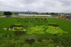 BGF리테일,CU점포에서 김제지평선 축제 대대적 홍보