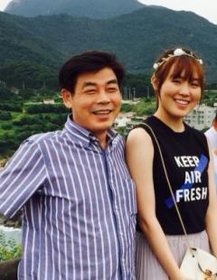 쇼트트랙 김아랑 선수, 아버지와 함께 나인나인 CF 촬영 출격