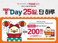 SK네트웍스 Most, SKT T Day 제휴 기름값 할인 이벤트 진행