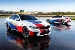 BMW 뉴 M5, CJ슈퍼레이스 '세이프티카' 용인스피드웨이 달린다