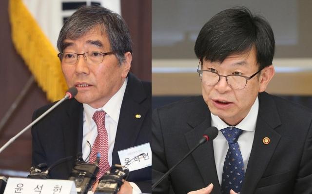 윤석헌-김상조 연쇄 회동에 벌벌 떠는 은행장들