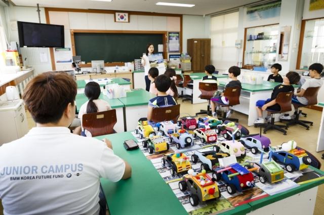 BMW 코리아, 16개교 대상 과학 창의교육 진행