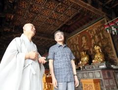 문재인 대통령, 경북 안동 봉정사 방문