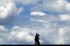 전국 구름 많고 남부 오후까지 비…미세먼지 '좋음~보통'