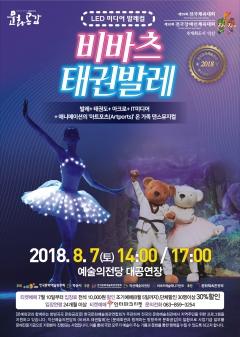 익산예술의전당,가족 댄스뮤지컬 비바츠 태권발레 공연