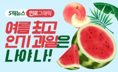 여름 최고 인기 과일은 나야 나!