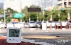 서울 38.5도, 111년 관측사상 최고 기온 기록···최악폭염에 분 단위 경신