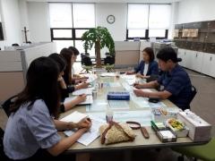 경기도의회 김영해 의원, 원정초 체육관ㆍ송담지구 학교 추진방안 논의