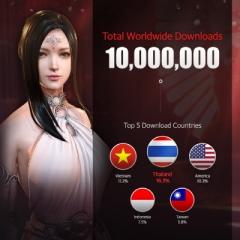 넥슨, '다크어벤저3' 글로벌 서비스 누적 다운로드 1천만 돌파