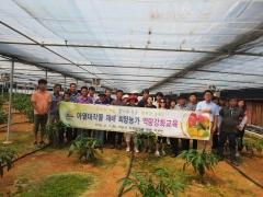 익산시, 기후변화에 대응 신소득 작물 발굴·육성