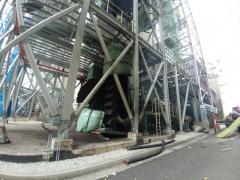 포천시 석탄화력발전소서 폭발사고···근로자 1명 사망·4명 부상