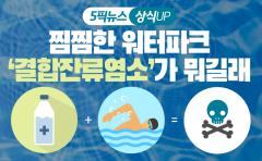 [상식 UP 뉴스]찜찜한 워터파크···'결합잔류염소'가 뭐길래