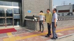 김원섭 군포시 부시장, 폭염 대응 주요사업장 안전점검 나서