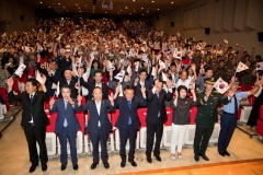 군산시, 제73주년 광복절 경축식 거행