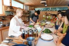 한빛원전, '20~40 지역 여성과 함께하는 사찰음식체험' 시행