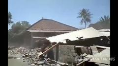 인도네이사 롬복 추가 강진… 최소 2명 사망