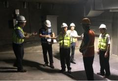 권태명 ㈜SR 사장, 수서고속철도 율현터널 수직대피구 안전점검