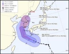 태풍 솔릭 6년만에 한반도 관통, 대피 요령은?