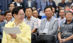 """이재명 경기도지사 """"20년 숙원사업 포천 수원산터널 해결할 것"""""""