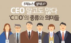 CEO 말고도 많다…'C○O'의 종류와 의미들