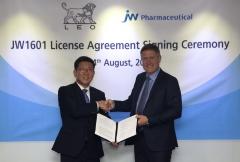 JW중외제약, 레오파마에 4500억 규모 아토피신약 기술수출